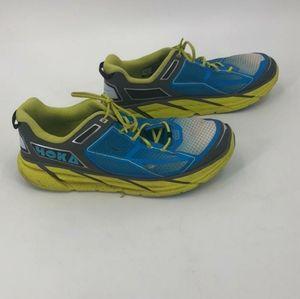 HOKA blue M clifton 1 sneakers